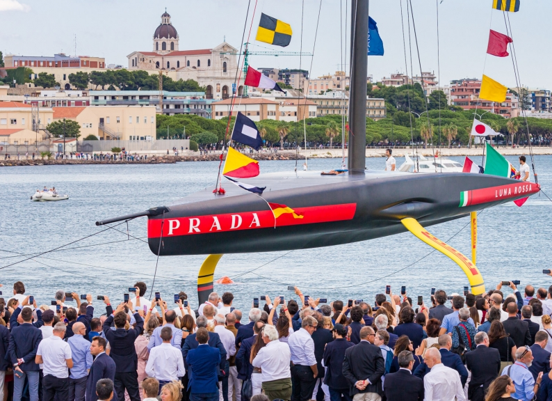AC75 Luna Rossa Launch