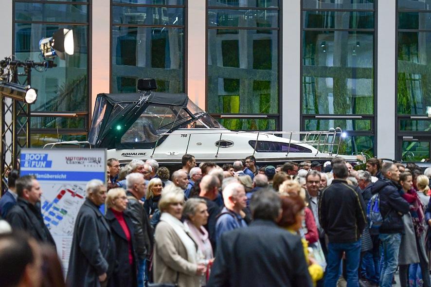BOOT & FUN BERLIN 2019 - GALA DER BOOTE - BOAT & FUN BERLIN 2019 - GALA OF BOATS -