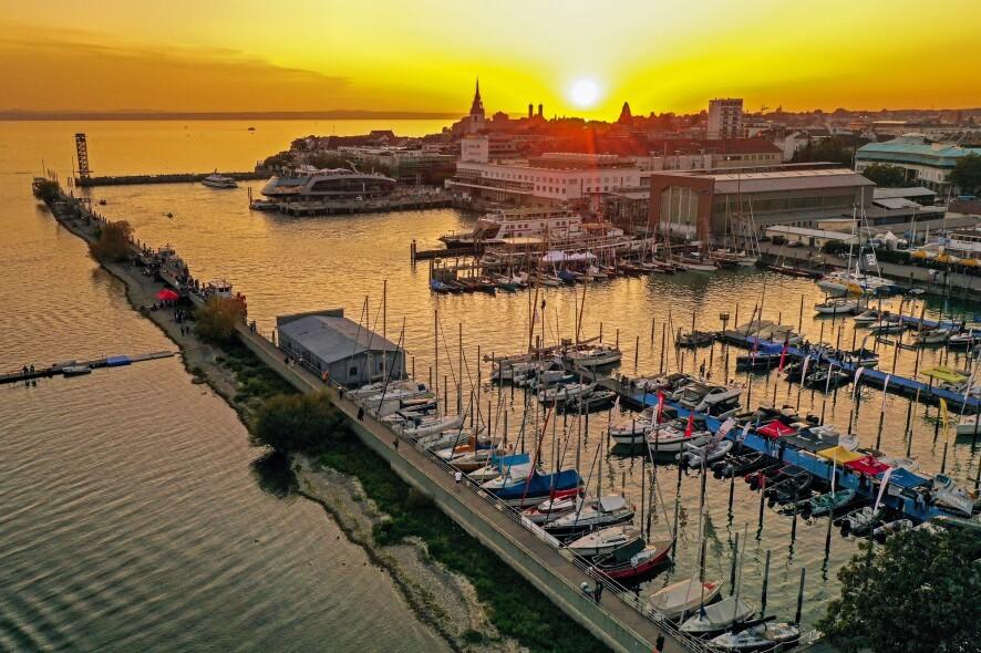 Interboot-Hafen, Aufnahme mit Drohne
