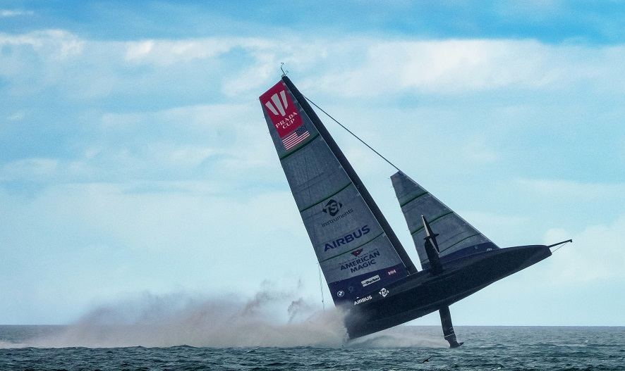 17/01/21 - Auckland (NZL) 36th America's Cup presented by Prada PRADA Cup 2021 - Round Robin 2 New York Yacht Club American Magic
