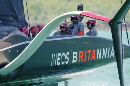 15/01/21 - Auckland (NZL) 36th America's Cup presented by Prada PRADA Cup 2021 - Round Robin 1 Ineos Team UK