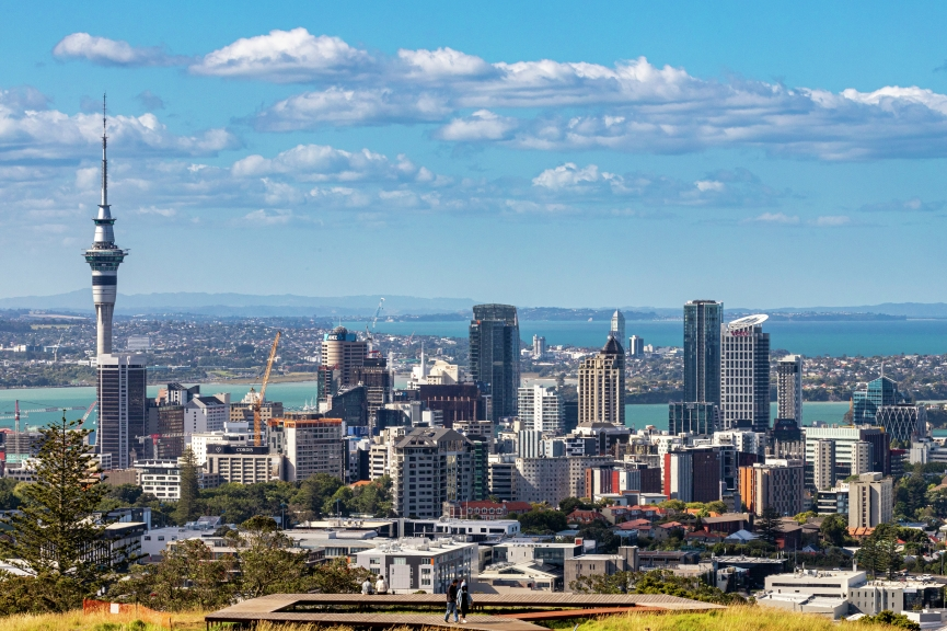 28/12/20 - Auckland (NZL) 36th America's Cup presented by Prada PRADA Cup 2021 - Around Auckland Auckland Lookout Point - Mount Eden