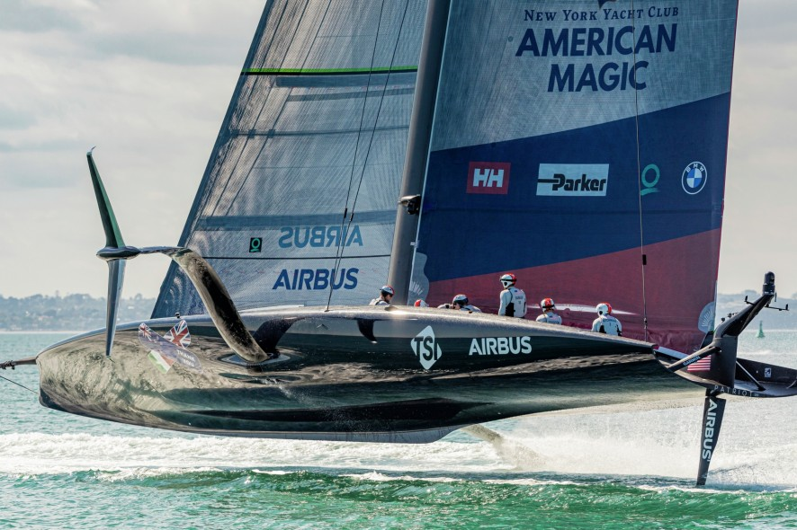 27/01/21 - Auckland (NZL) 36th America's Cup presented by Prada PRADA Cup 2021 - Training Day New York Yacht Club American Magic