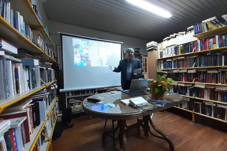Marko Vučetić izložba meteoroloških knjiga GK Hvar