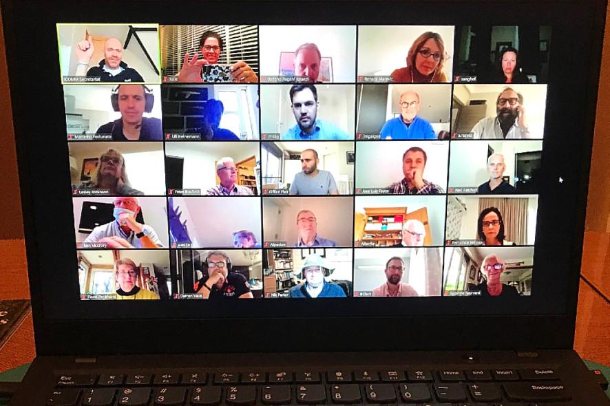 Skype konferencija ICOMIA foto
