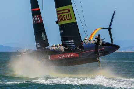 17/12/20 - Auckland (NZL) 36th America's Cup presented by Prada Race Day 1 Luna Rossa Prada Pirelli Team