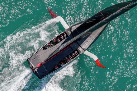 20/12/20 - Auckland (NZL) 36th America's Cup presented by Prada Race Day Ineos Team UK