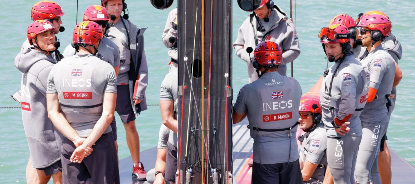 14/02/21 - Auckland (NZL) 36th America's Cup presented by Prada PRADA Cup 2021 - Dockside Ineos Team UK