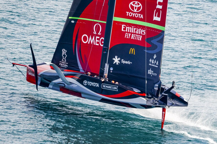 15/03/21 - Auckland (NZL) 36th America's Cup presented by Prada America's Cup Match - Race Day 5 Emirates Team New Zealand