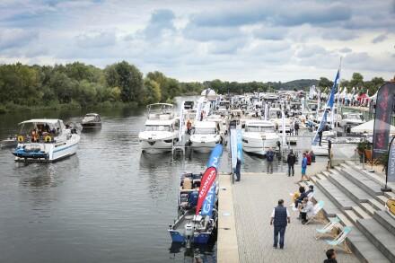 BOOT & FUN 2020 inwater Marina in den Havelauen *** Local Caption *** BOOT & FUN 2020 inwater Marina in den Havelauen
