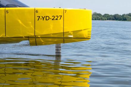 Edorado 8S prototype flight bow foil